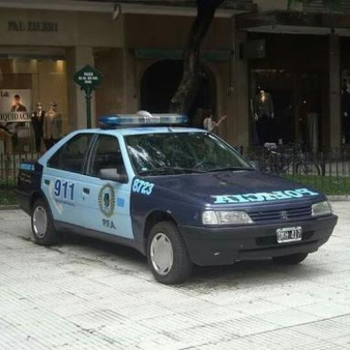 Interieur Policier