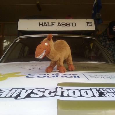 Half ass'ed